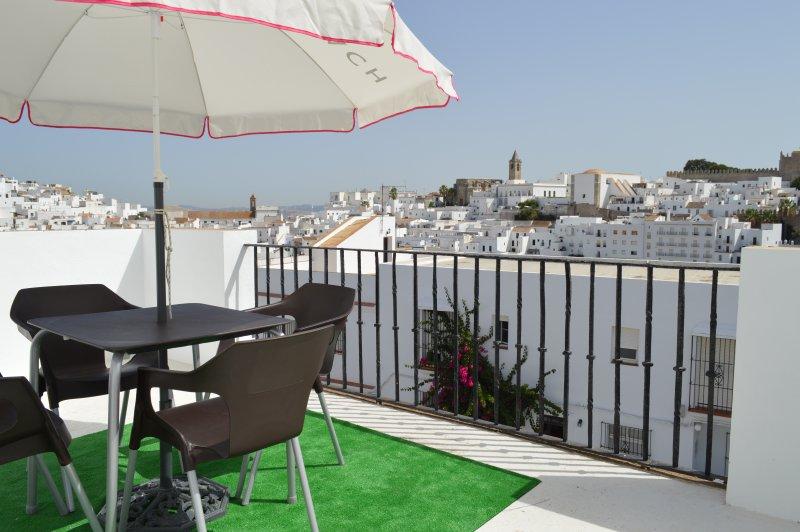 Terraza privada con espectaculares vistas