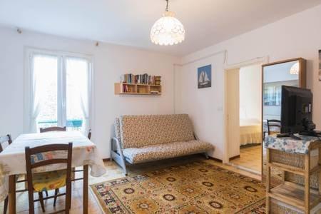 ingresso appartamento soggiorno