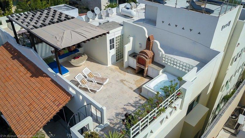 Vostra terrazza privata sul tetto