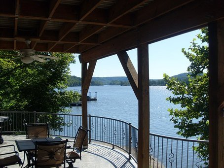 Sunset View Log Home, holiday rental in Climax Springs
