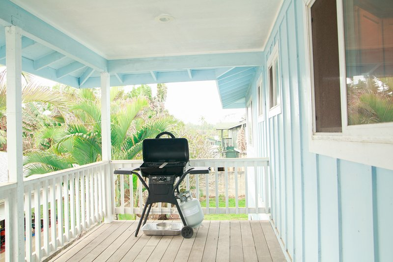 Want to grill up your fresh catch straight from the ocean? Grill provided for your use!