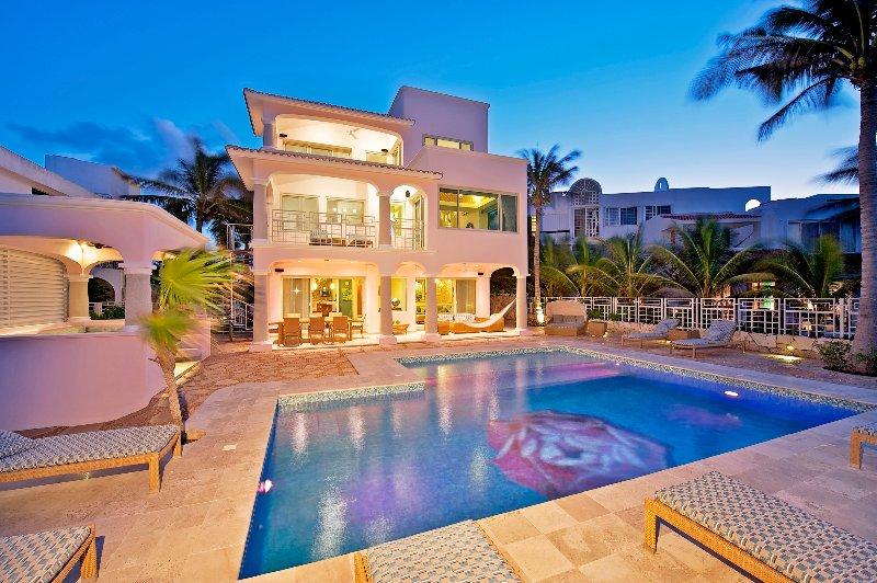 1. Casa Rosa, Akumal, Luxury Villa, Facade