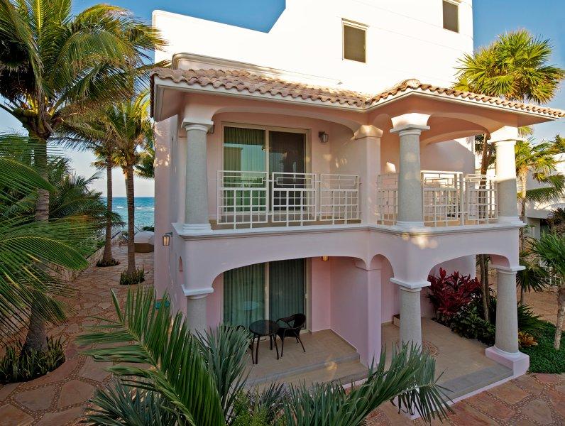 30. Casa Rosa, Akumal Villa Luxury Home Entrance