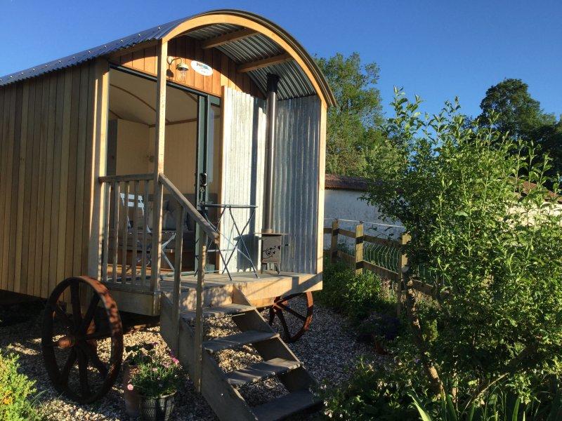 Nossa cabana no jardim