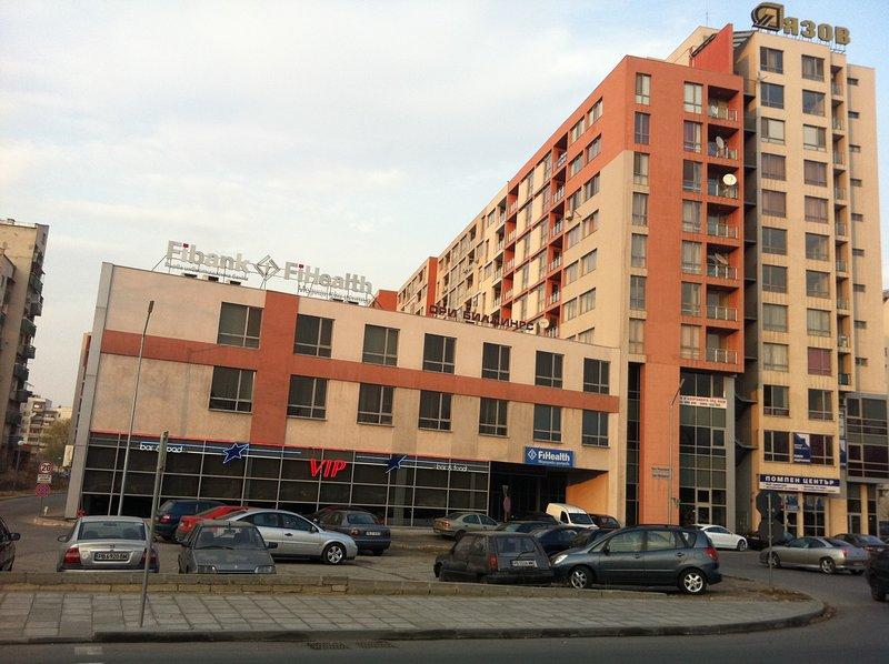 фасада сграда апартамент