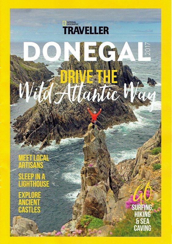 rivista National geografiche, Viaggi. Foto di copertina: Malin Head