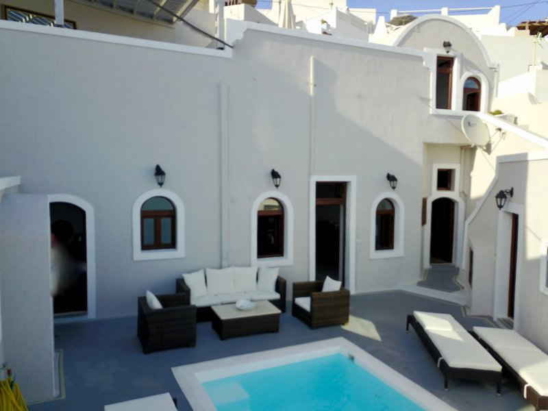 Villa from Patio