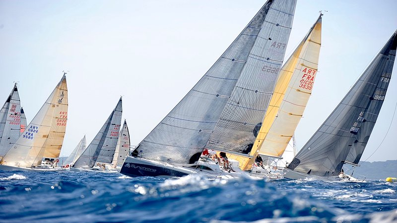 Sailing in the Gulf of St. Tropez