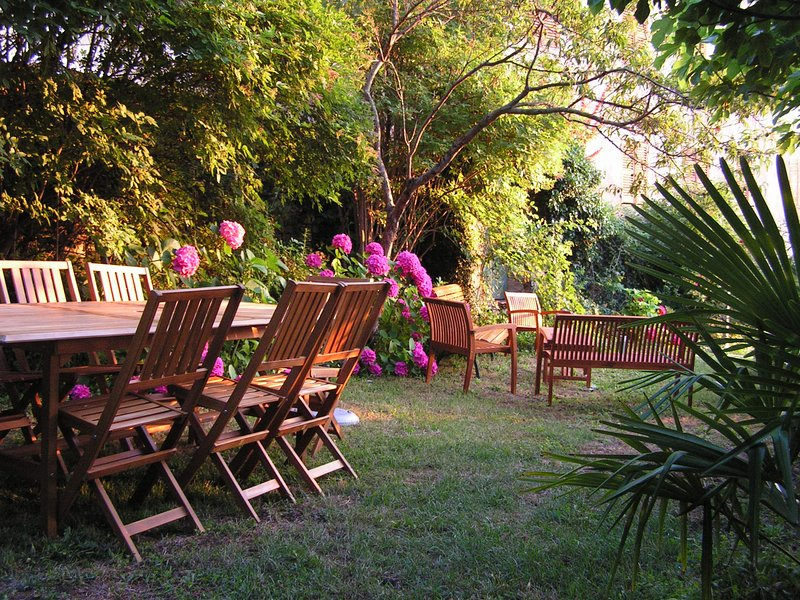 Garden, first terrace
