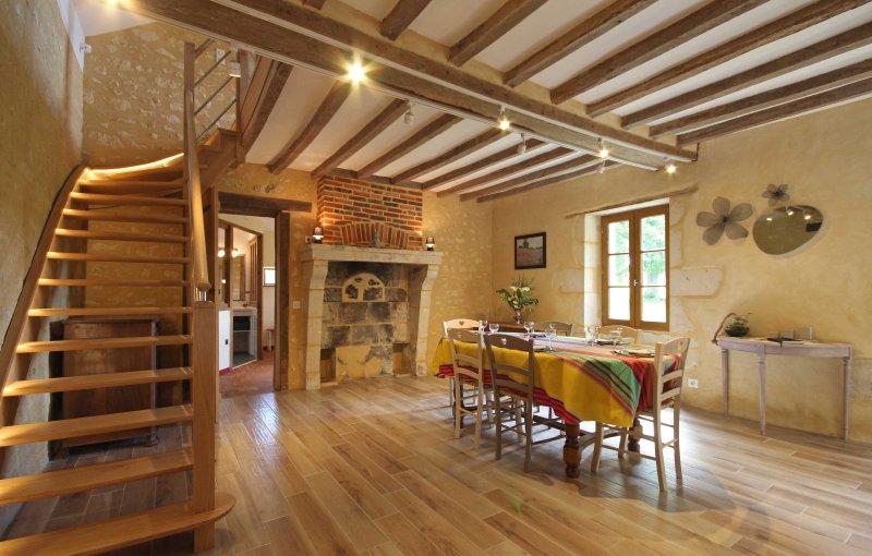 Venez vous ressourcer dans une maison campagne tous comfort, holiday rental in Saint-Germain-des-Grois