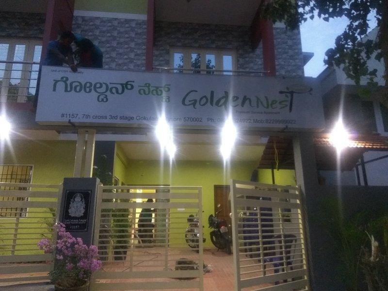 Golden Nest, aluguéis de temporada em Kochanahalli
