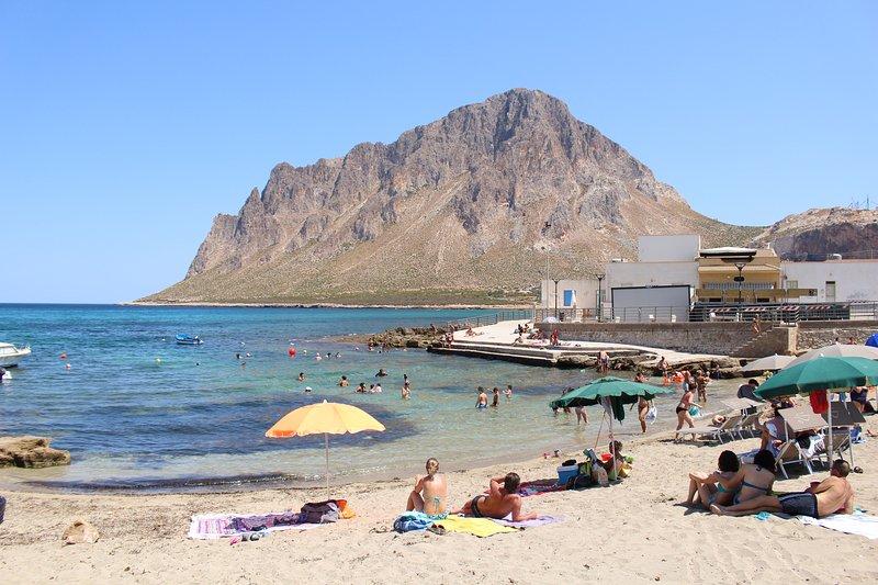 "Cornino Bay, 10 minutes from the ""Erice"""