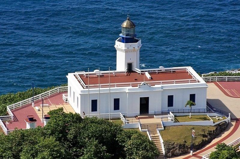 Arecibo Lighthouse, incredible view of Arecibo's shores