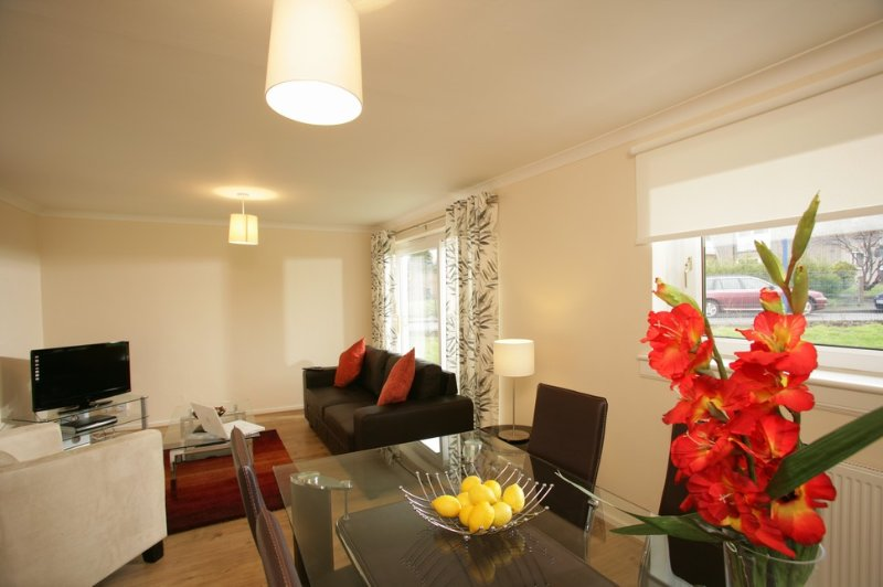 3-bedroom apartment near Edinburgh, holiday rental in Newton