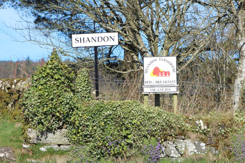 Shandon Farmhouse Bed and Breakfast -Sky room, vacation rental in Gartocharn