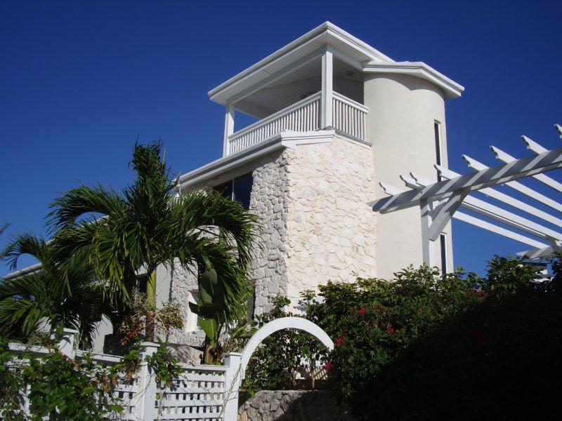 Helios Tower Garden Side