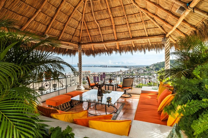 Your next Puerto Vallarta vacation will be magical when you stay at 'Sky House,' a 3-bedroom, 3.5-bathroom vacation rental condo that sleeps 8.
