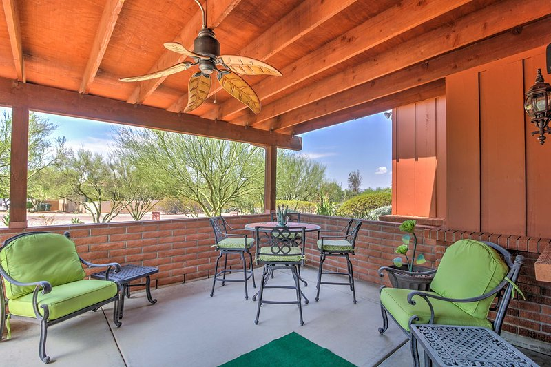Charming Tucson Apartment w/Patio & Desert Views!, holiday rental in Catalina Foothills