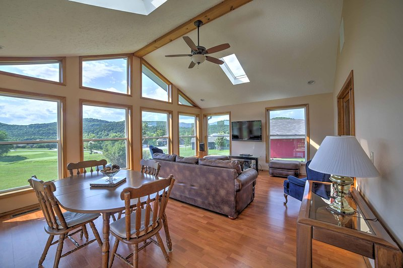 The home boasts over 2,000 square feet of living space and a spacious sunroom.
