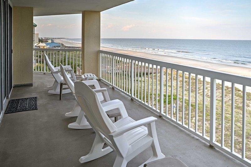 La retraite de plage ultime vous attend à ce front de mer vacances location condo 3 chambres à Pawleys Island!