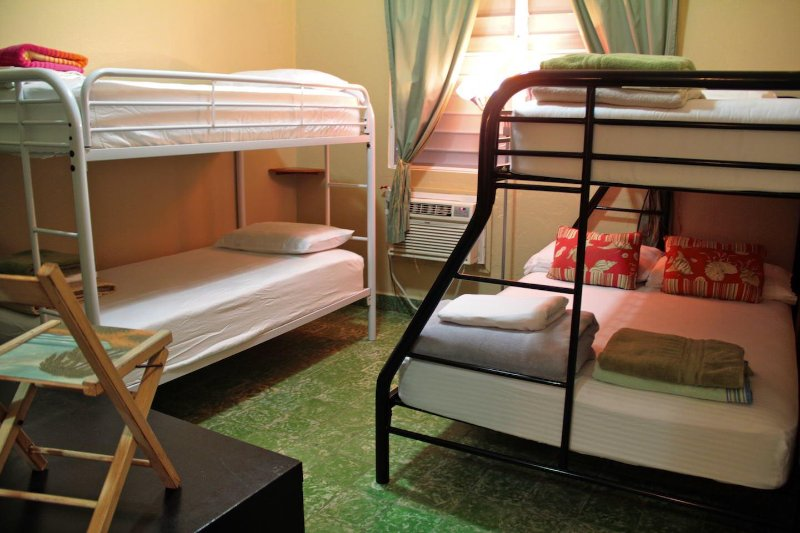 Bunkbeds perfect for family and friends getaways
