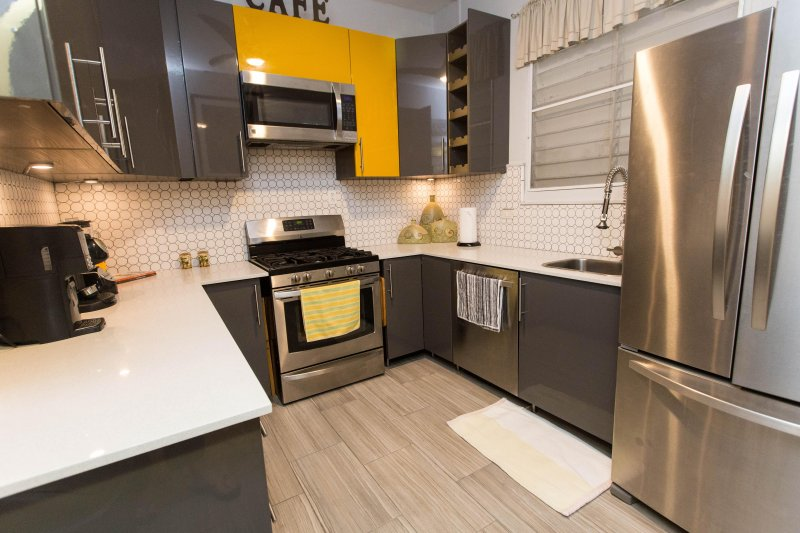 Gorgeous modern kitchen for your holiday rental