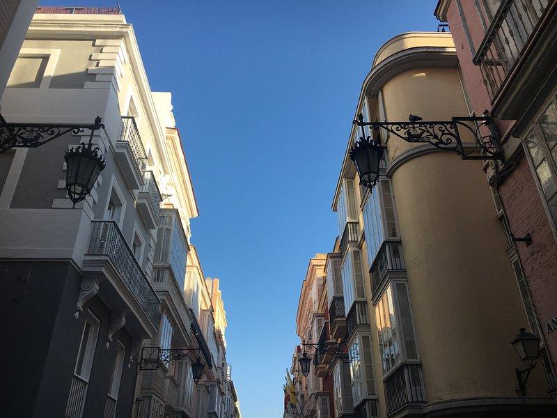 Na rua Ancha