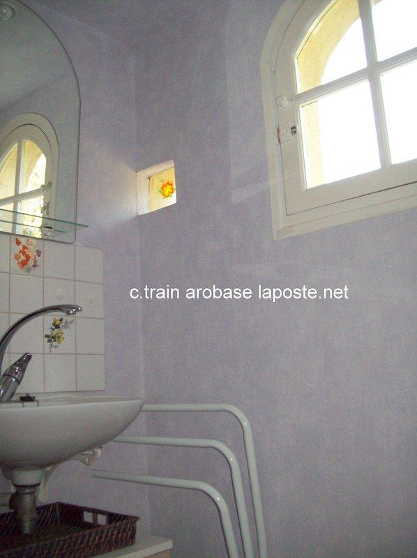 WC / fregadero arriba en el desván.