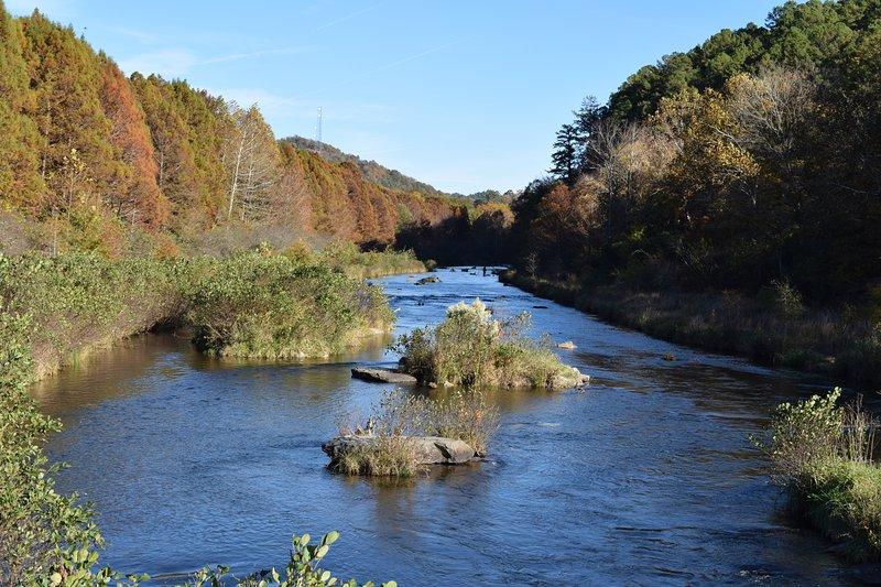 Montanha Fork River - pescar trutas ano