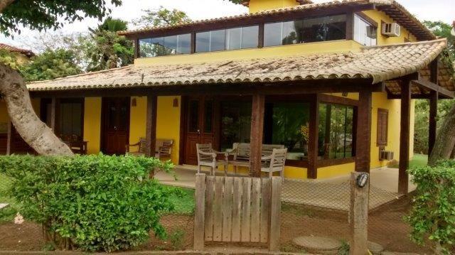 Casa Búzios Manguinhos 4 Suites Frente para Praia, alquiler vacacional en Búzios