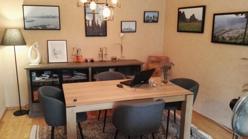 1 bedroom flat with terrasse&garden, holiday rental in Frisange