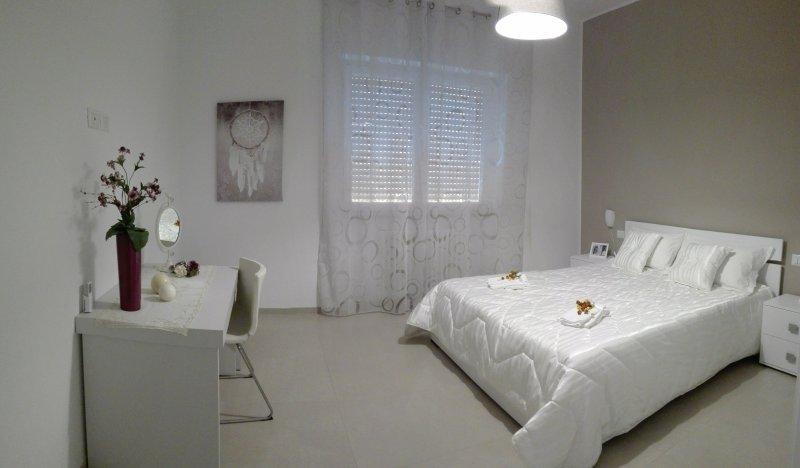 camera doppia con letto matrimoniale - biancheria da letto fornita
