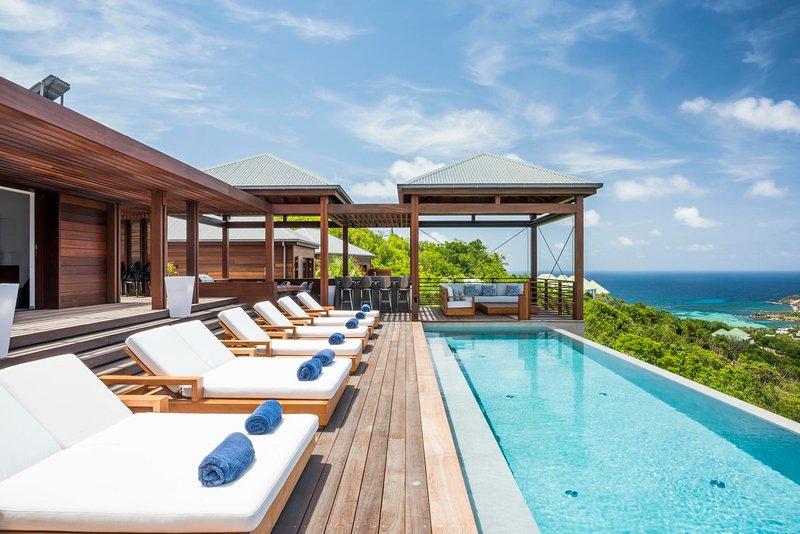 Villa La Danse du Soleil St Barts, holiday rental in Grand Fond