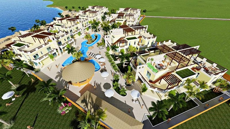 Villa Carolina, Minimalist 2 bedroom Villa at Las Palmas Residences Roatan, alquiler vacacional en Dixon Cove