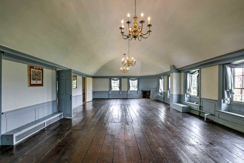The ballroom will quickly become your favorite room in the house
