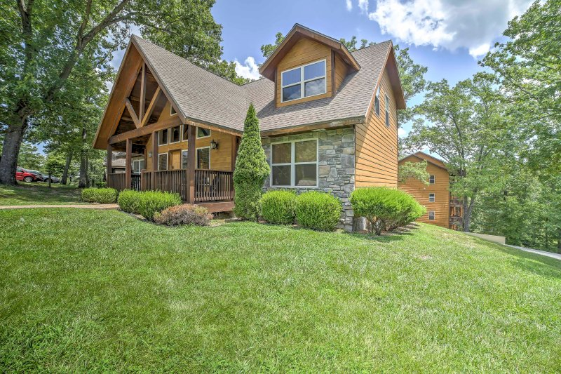 Experience Branson in style when you stay at this beautiful home.