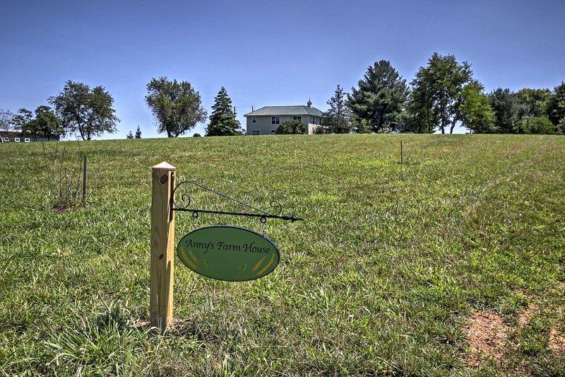 Elevare il vostro rifugio Virginia con questa casa in affitto a Round Hill.