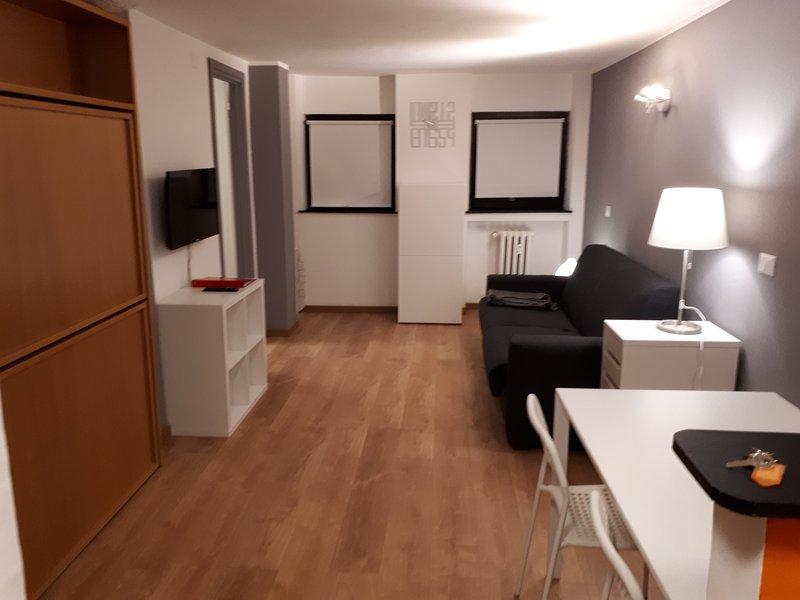 Matterhorn Studio Appartamento Vacanza Home Holidays Rental (A), Ferienwohnung in Valtournenche
