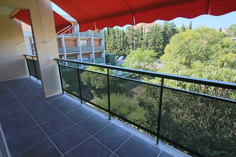 terraço com jardim