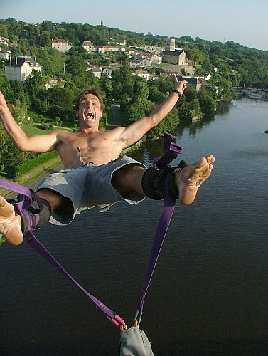 Bungy jump anyone? Give it a go!!
