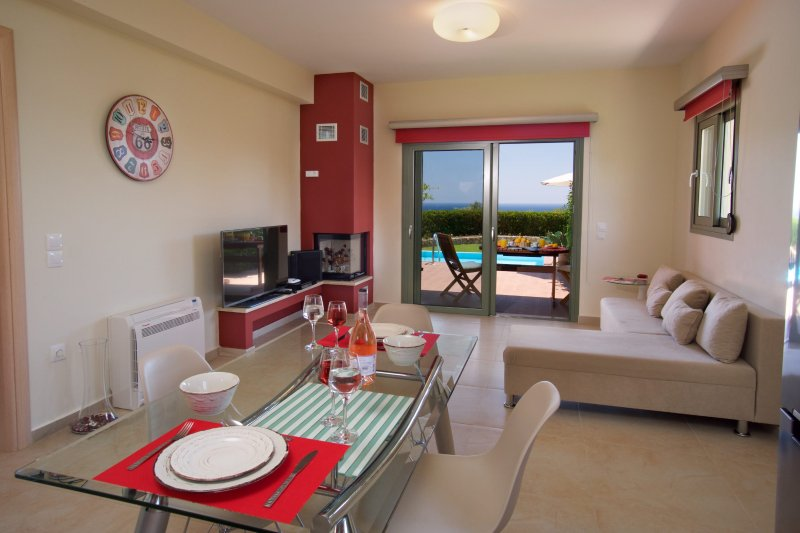 Mousata Villa Sleeps 2 with Pool Air Con and WiFi - 5238135, vacation rental in Mousata