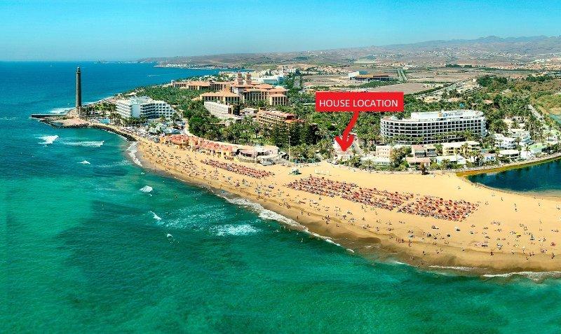 Casa Localización (en la playa)