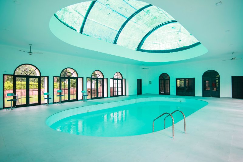 Our Full size indoor pool - another view