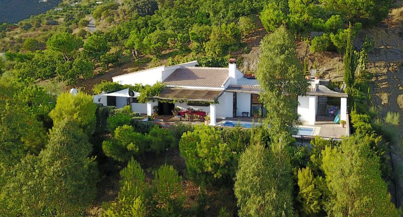 The Villa Is Set in Natural Surroundings.