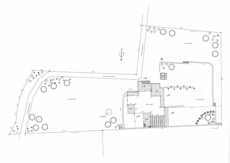 Komos villa - House plan - info cretan villas with