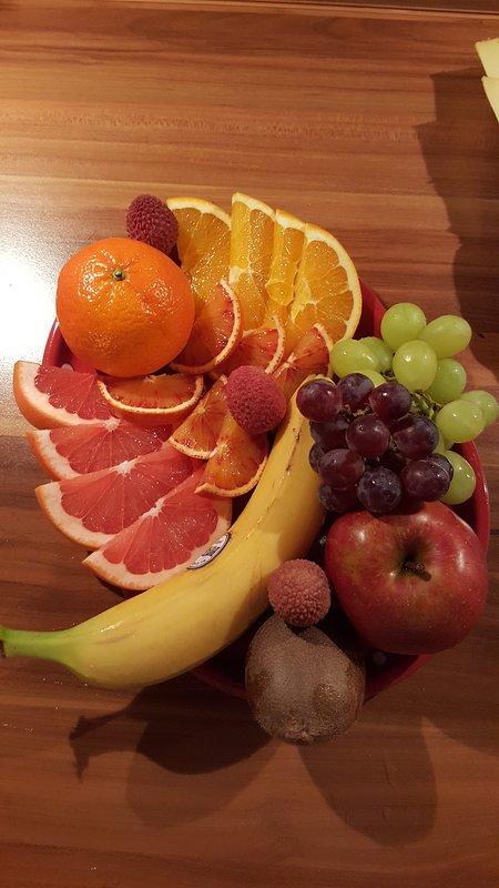 Fruit pour le petit déjeuner