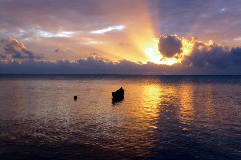 Sunrise before the villamahafaly