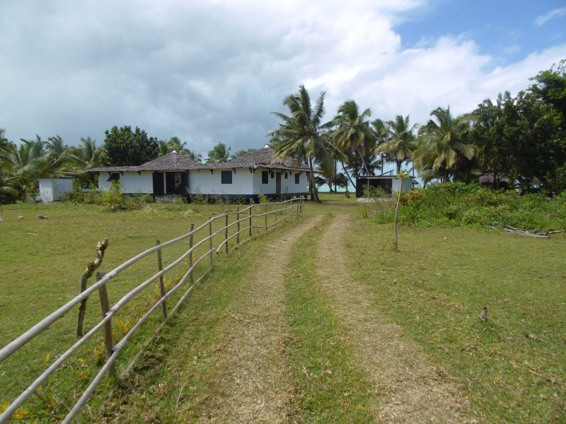 Way to access the villa