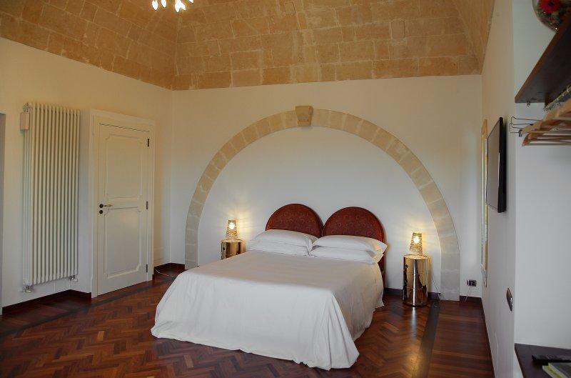 Camera a due piani con sale de bain e terrazza con straordinaria unica a 360° sui Sassi e la città