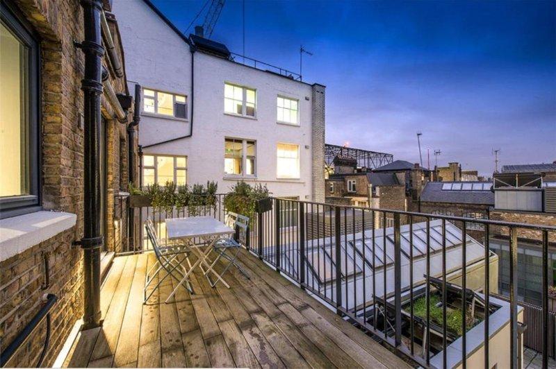 vue parfaite de London Eye à votre terrasse privée!